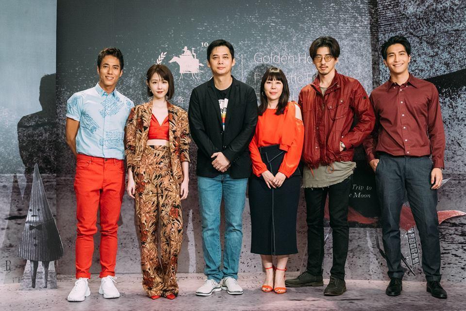 「緝魔」導演與主要演員出席金馬奇幻影展首映。圖/摘自金馬影展臉書