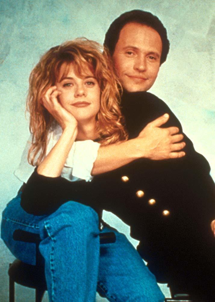 比利克里斯托與梅格萊恩經典浪漫喜劇「當哈利碰上莎莉」歡慶30周年。圖/摘自imd...