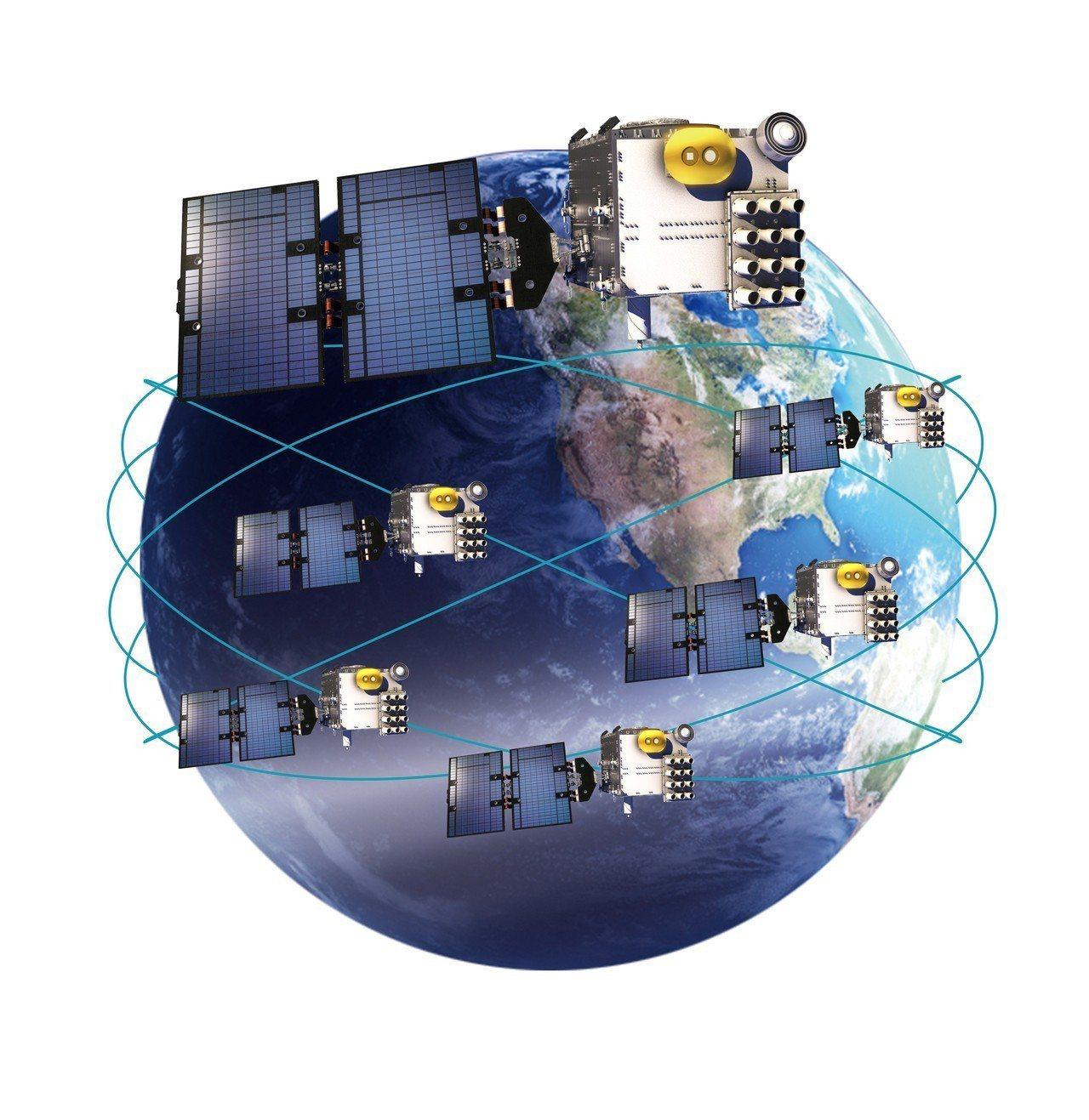 福衛七號是由6枚衛星組成,即將啟運赴美。圖/太空中心提供