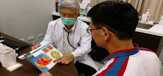 長安醫院胸腔科醫師周志和指出,中重度以上的呼吸中止症患者可配戴呼吸器(持續陽壓睡...