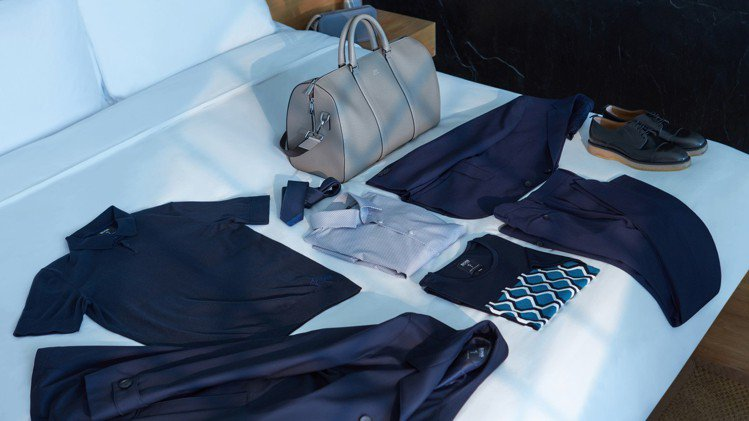 BOSS x 趙又廷Luxury Travel系列,推出西裝套裝與旅行風衣,以及...