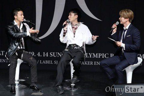 Super Junior的東海、銀赫組成的子團D&E昨在韓國舉辦首場演唱會,他們下午先舉行記者會,SJ的隊長利特義不容辭擔任記者會主持人,訪問他最熟悉的兩位弟弟。身為前輩級偶像,現場有記者好...