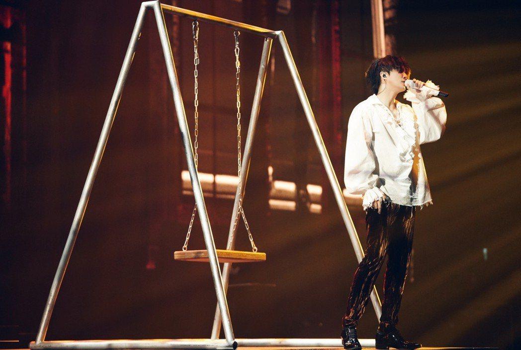 薛之謙在小巨蛋舉辦「摩天大樓」世界巡演。圖/IME提供