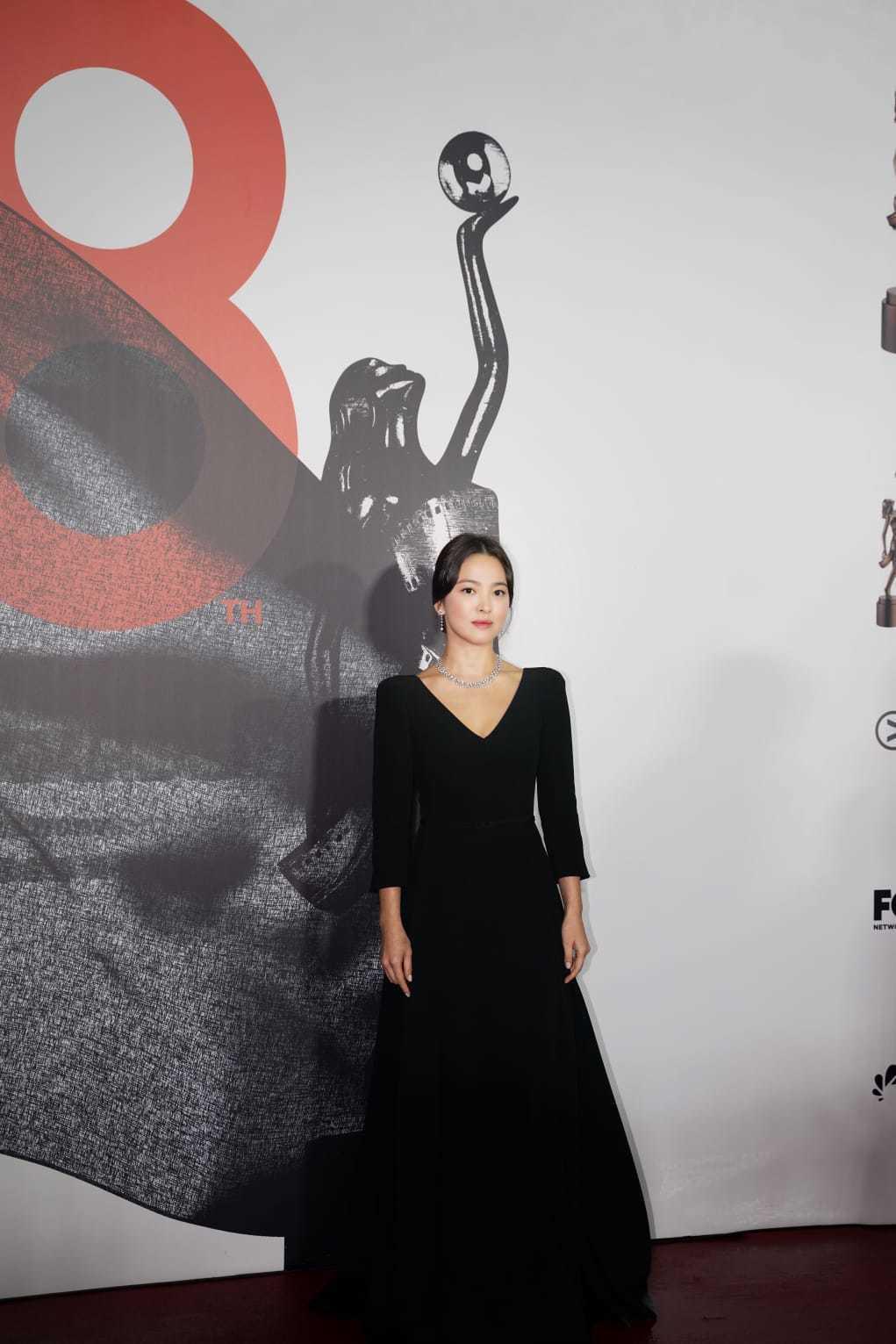 宋慧喬宣佈自己正式加盟澤東電影。圖/澤東提供