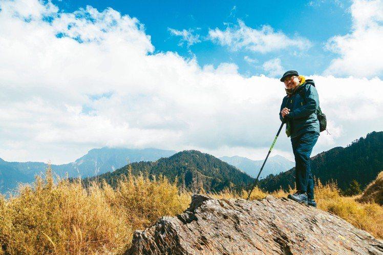 人過中年的詹偉雄愈來愈喜歡往山裡走。 王騰毅/攝影