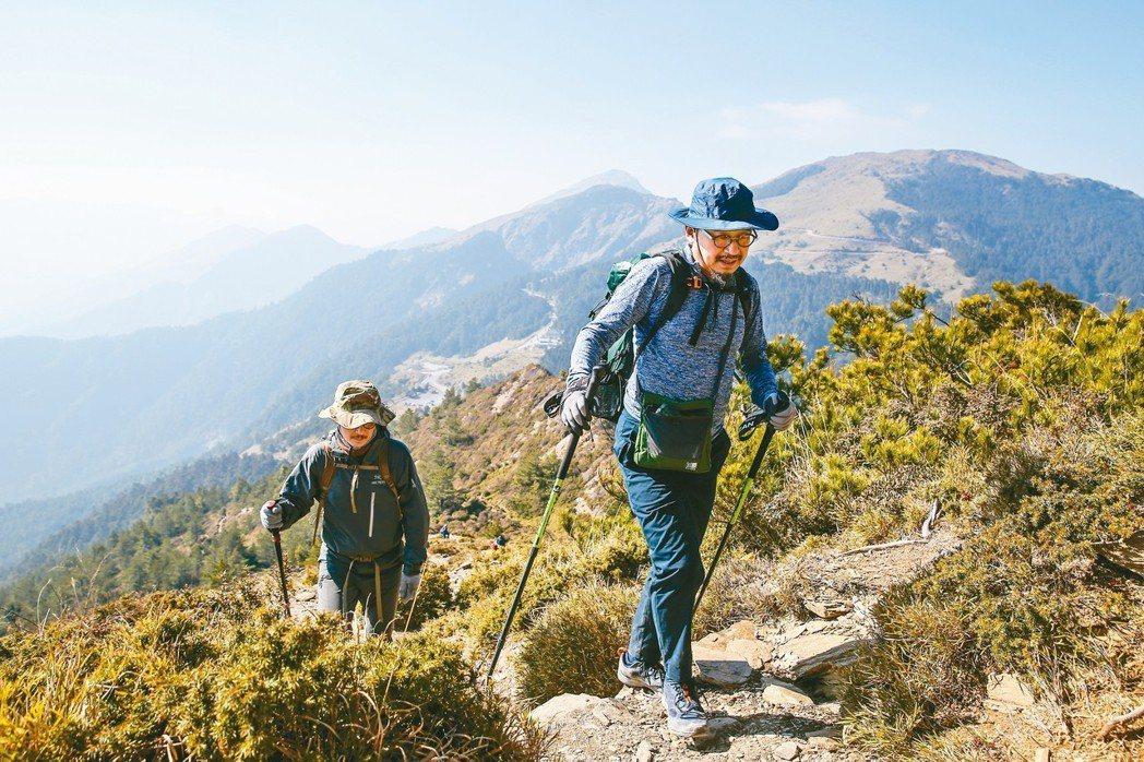 遠離城市,走進山岳,是詹偉雄的理想生活。 王騰毅/攝影
