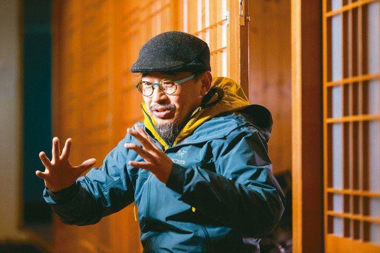 詹偉雄著迷於山帶給他的細微感動。 王騰毅/攝影