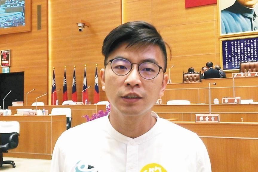 民進黨發言人周江杰。 聯合報系資料照片/記者郭政芬攝影