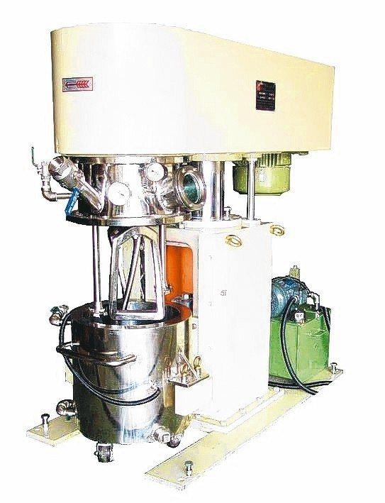 華懋機械專精各式攪拌與研磨機械設備研發製造。 華懋公司/提供