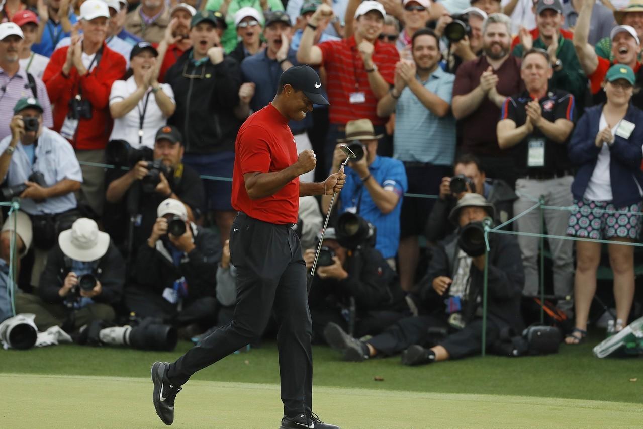 老虎伍茲贏得美國名人賽(U.S. Masters)冠軍,總統川普將頒發美國最高平...