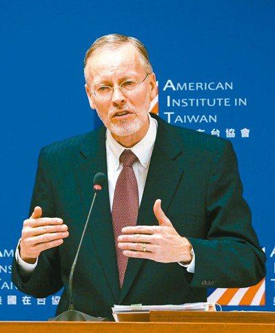 美國在台協會(AIT)處長酈英傑。 圖/聯合報系資料照片
