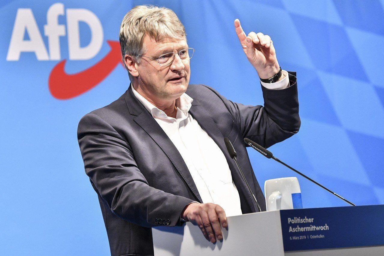 德國另類選擇黨候選人莫頓(Joerg Meuthen)。 歐新社