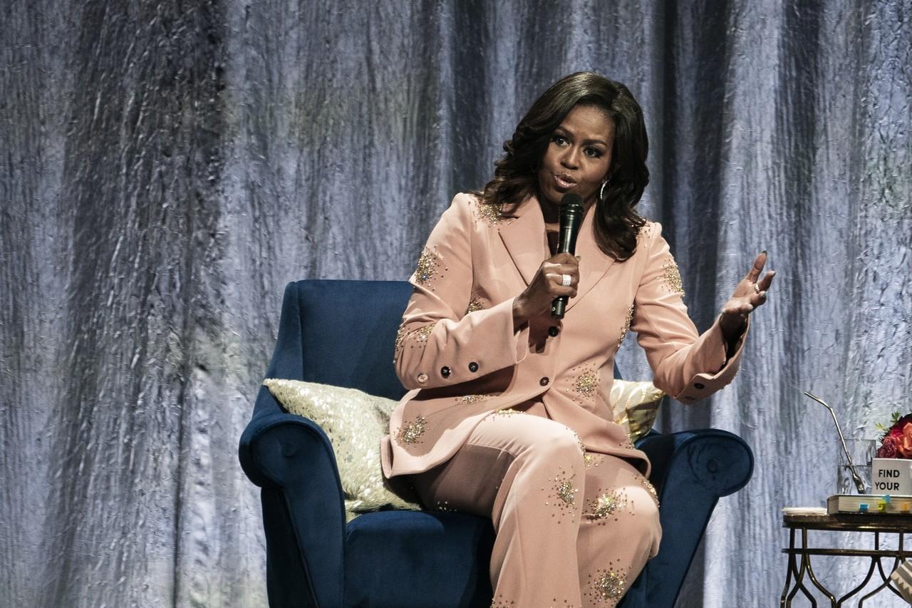 蜜雪兒歐巴馬看不下去 霸氣聲援有色女議員