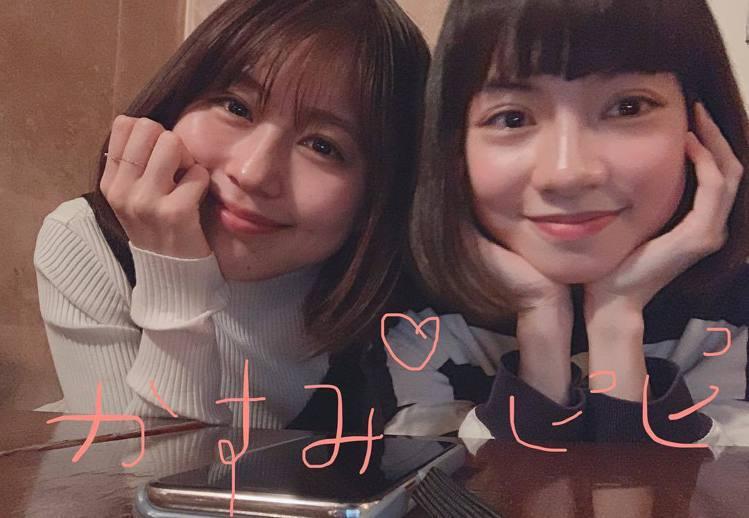有村架純(左)、姚愛寗。圖/擷自instagram