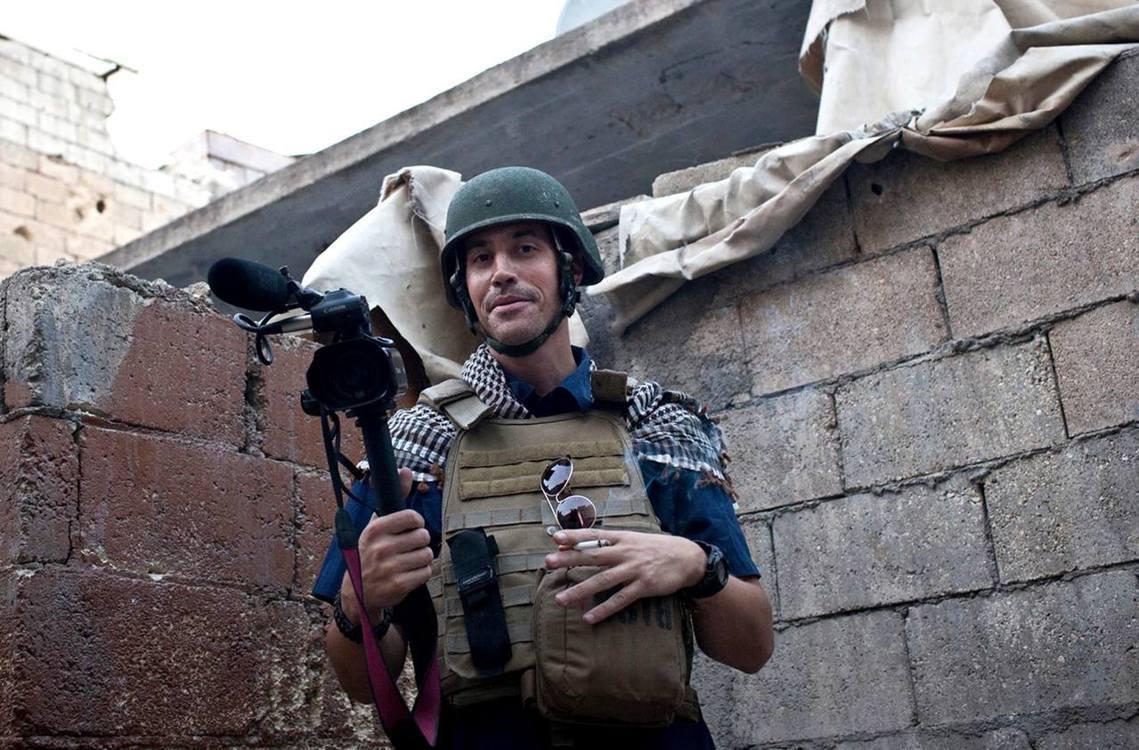 遭斬首的第一個外國人質,美國記者佛利。 圖/美聯社