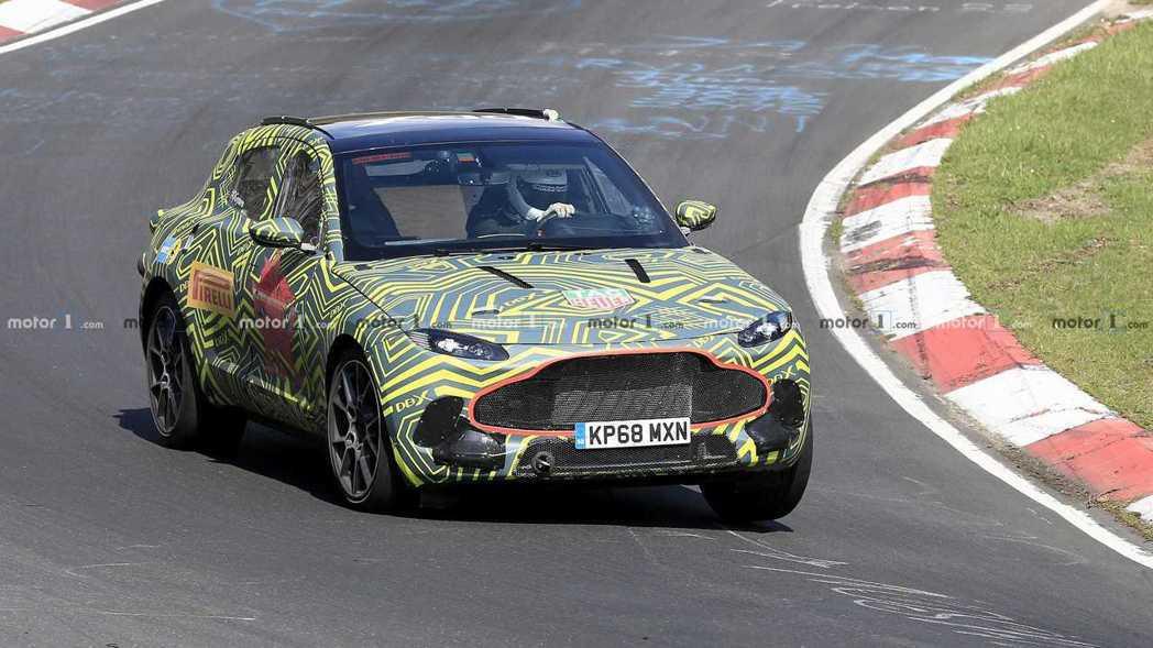 Aston Martin DBX已經進入最後的性能測試階段。 摘自Motor1