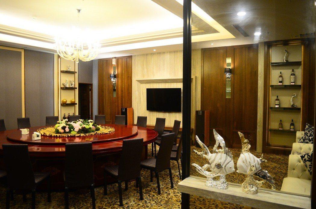 VIP包廂。 水月囍樓/提供。