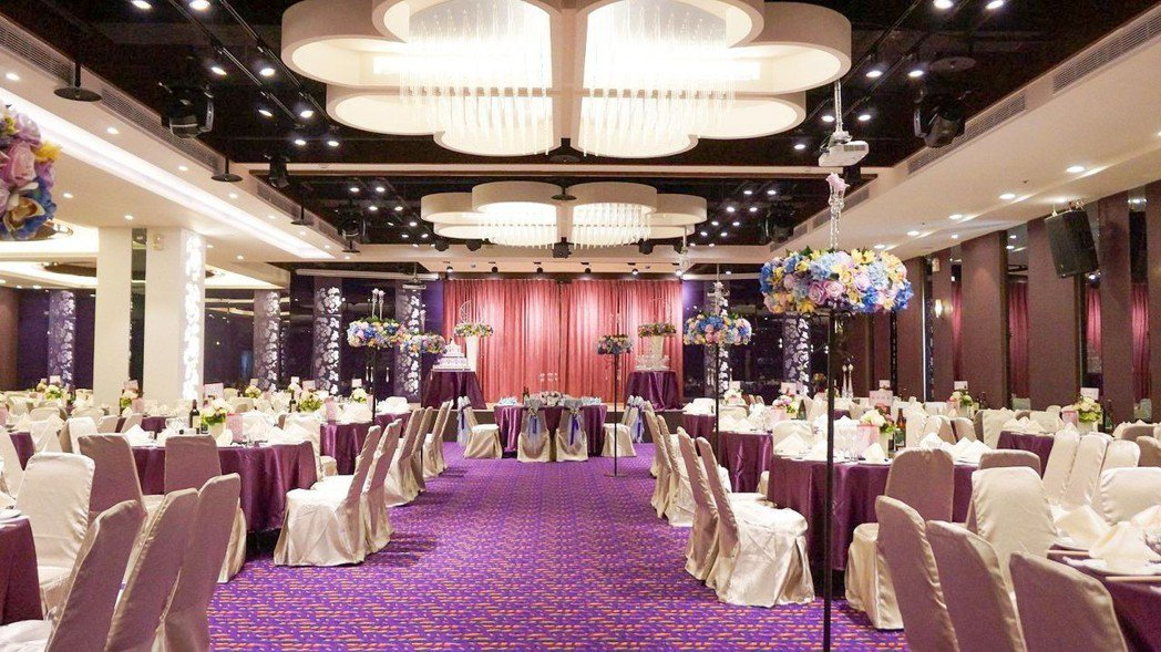2F紫羅蘭廳(可容納50桌) 水月囍樓/提供。