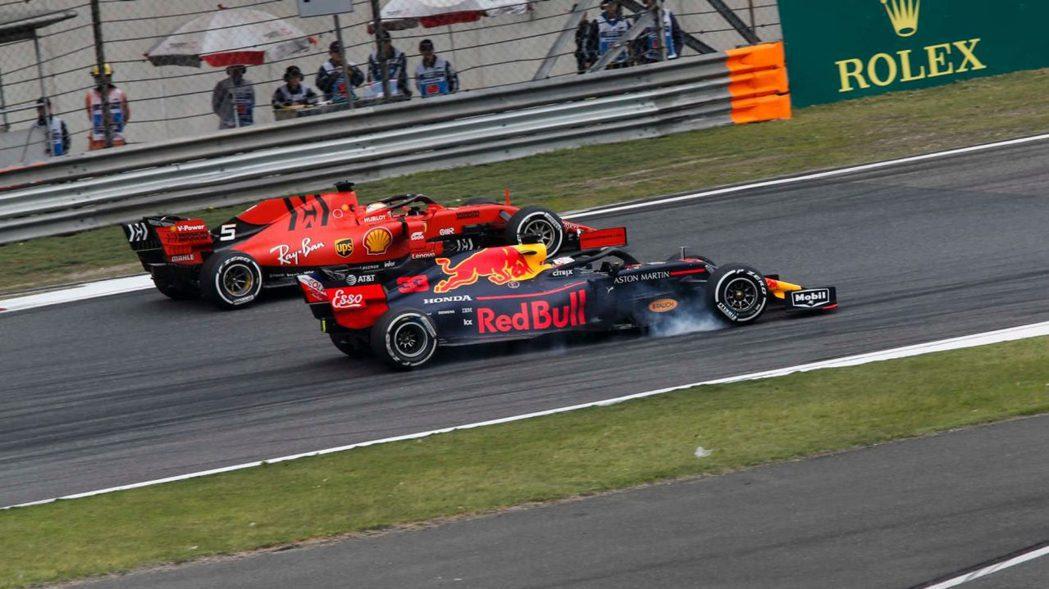Vettel與Verstappen這兩位小冤家再度碰頭。 摘自F1