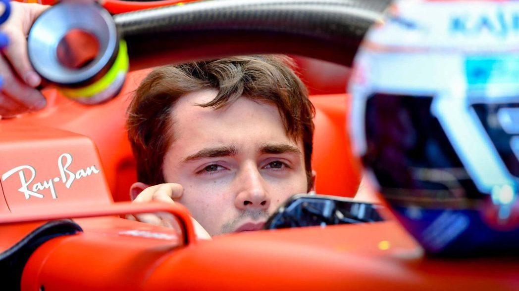 Leclerc在此戰顯得有點無奈。 摘自F1