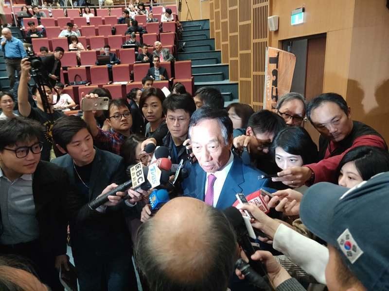 美國駐台辦事處(AIT)與ICRT電台15日舉辦《台灣關係法40周年座談會》,邀...