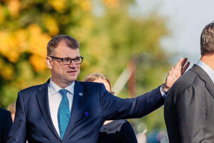 由於社福與移民問題處理不佳,原芬蘭首相希皮拉的中央黨得票率慘跌第三。(Photo...
