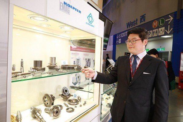 圖3 : 代理瑞士齒輪磨床品牌KLINGELNBERG AG的DKSH台灣大昌華...