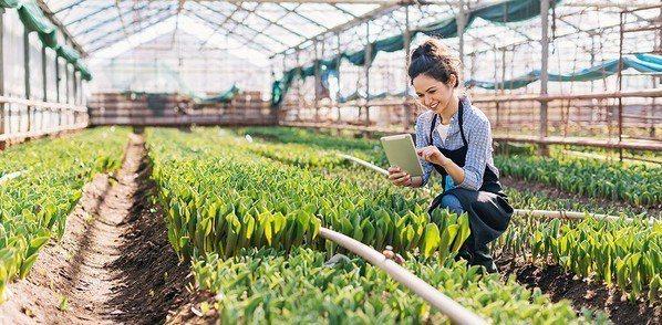 圖五 : NB IoT非常試用於智慧化的農業監測。