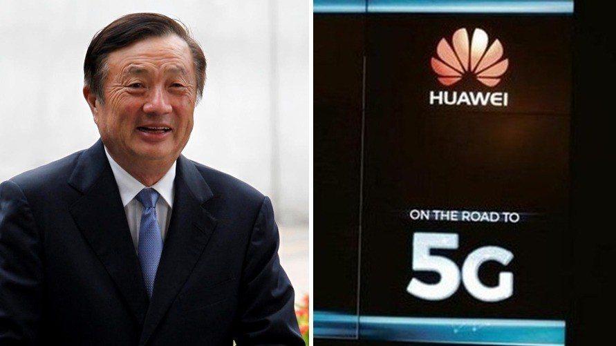 華為創辦人任正非。香港經濟日報