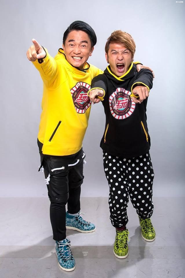 憲哥(左)和KID師徒感情深厚。圖/摘自臉書