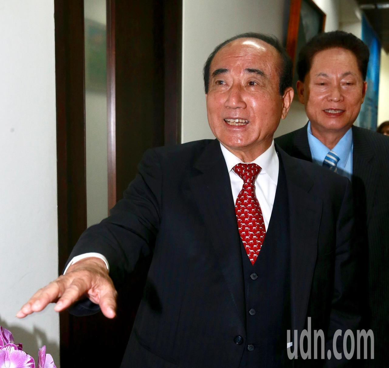 國民黨立委王金平。本報資料照片