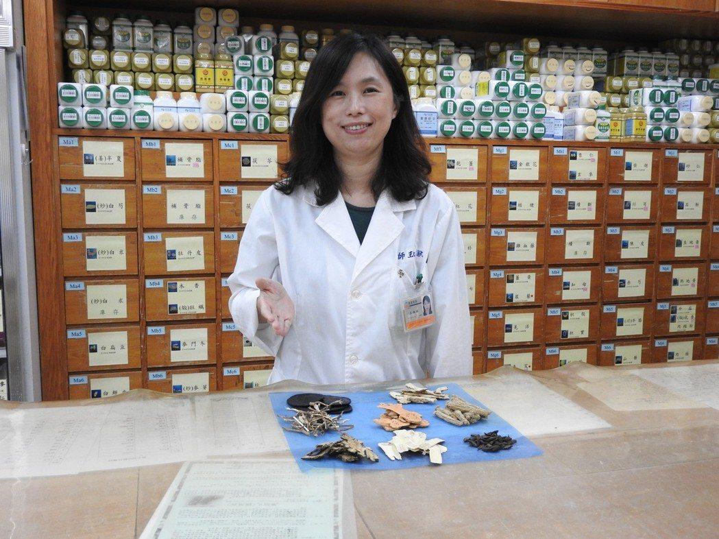 台南市立醫院中醫師王淑秋。圖/台南市立醫院提供