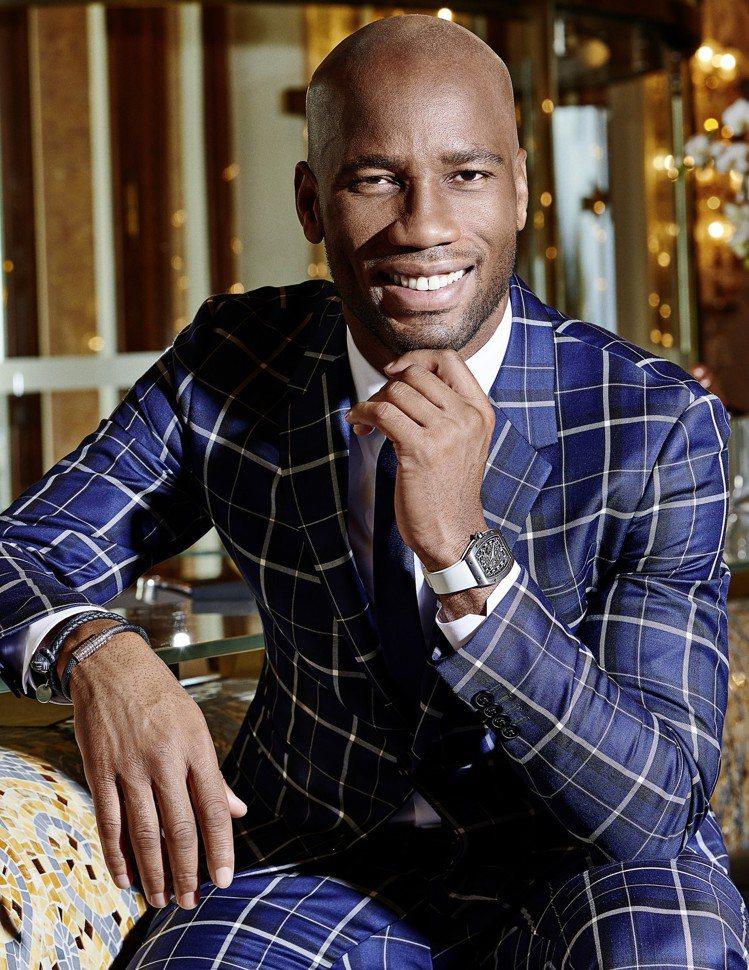 德羅巴基金會創辦人也是前球星的Didier Drogba,近期成為了RICHAR...