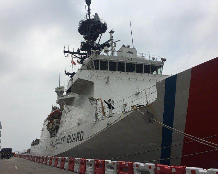 「伯索夫」號海岸防衛艦(USCGC Bertholf) 。香港星島日報