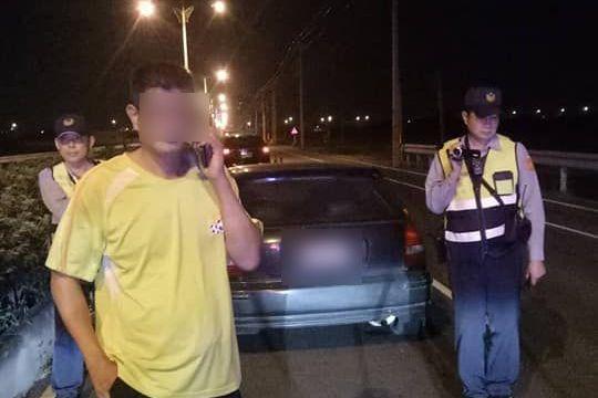 雲林吳男有六次酒駕前科,其中有兩次撞死人,但前晚又再酒駕被抓。圖/台西分局提供