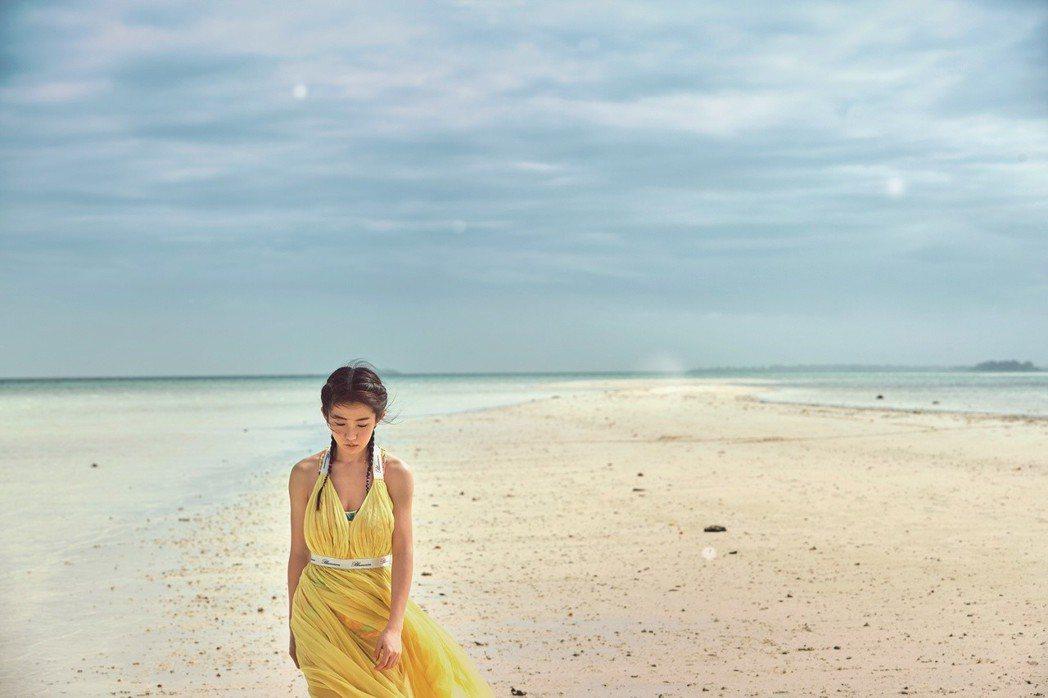 郭書瑤離開帛琉,只留下回憶,什麼也不帶走。圖/潮旅雜誌提供