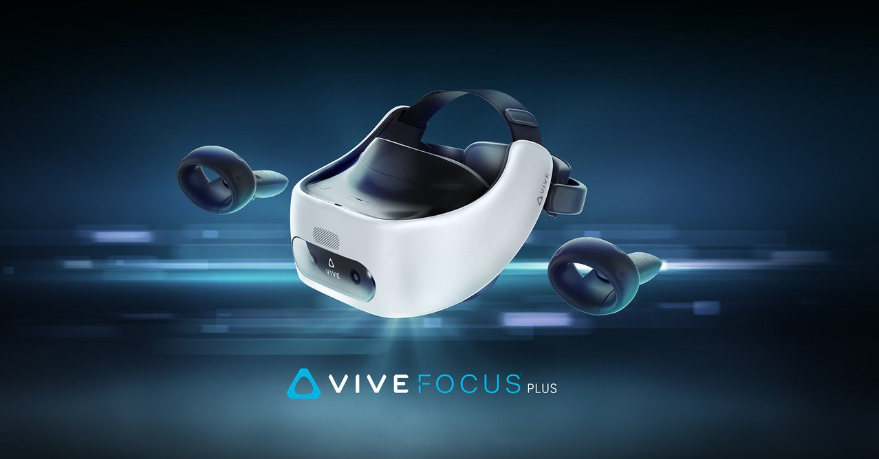 宏達電VR一體機VIVE Focus Plus在台上市。 圖/宏達電提供