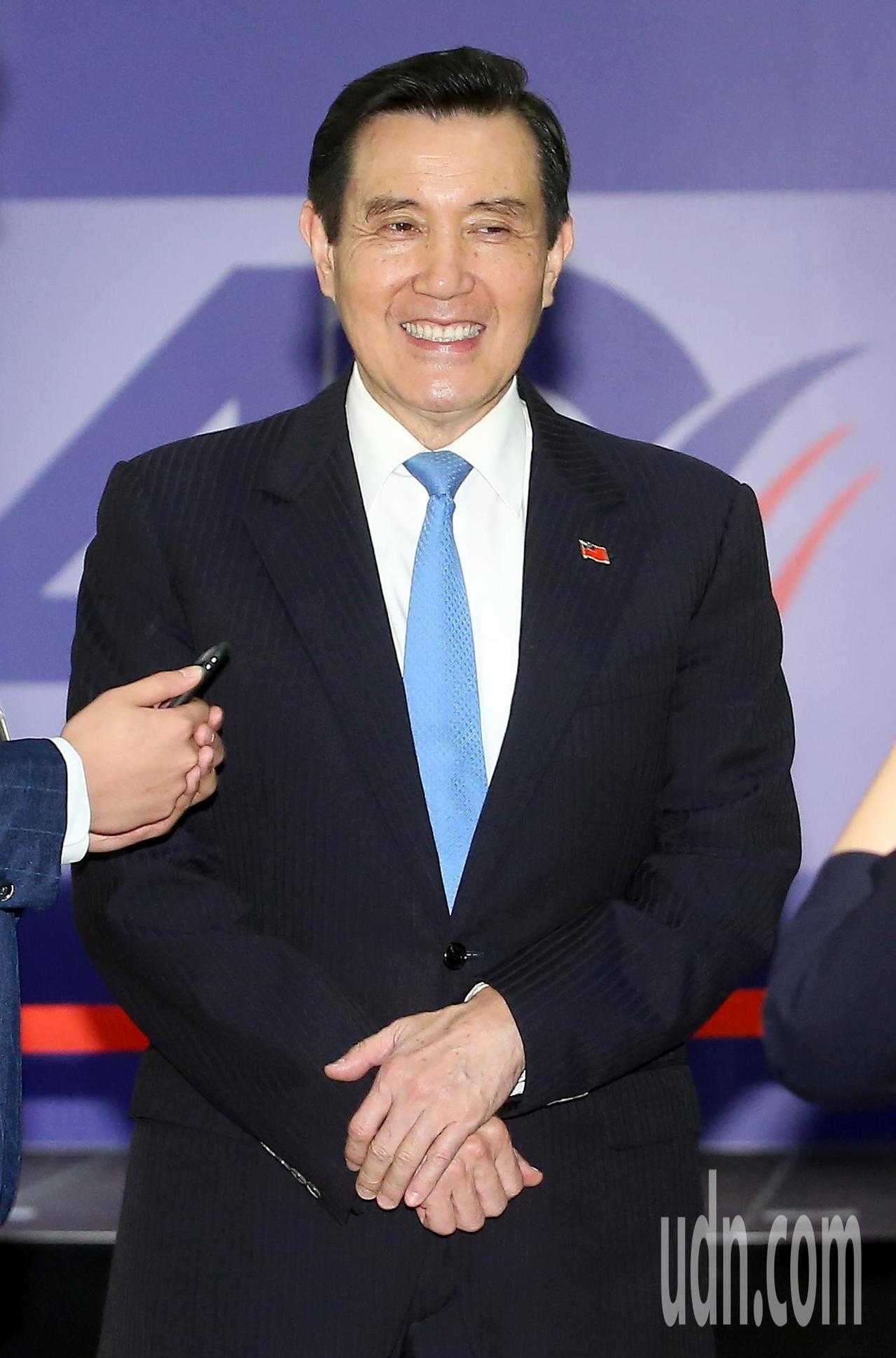 前總統馬英九出席《台灣關係法》40年友誼慶祝酒會。記者余承翰/攝影
