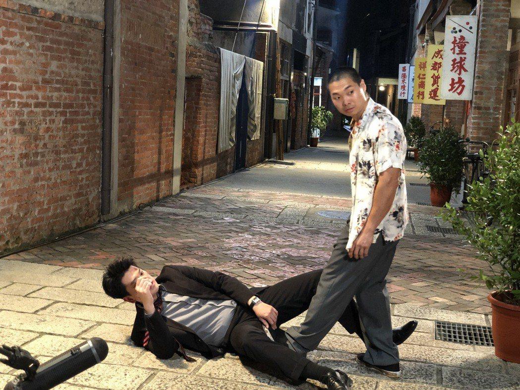 潘逸安被毆見紅。圖/艾迪聲提供