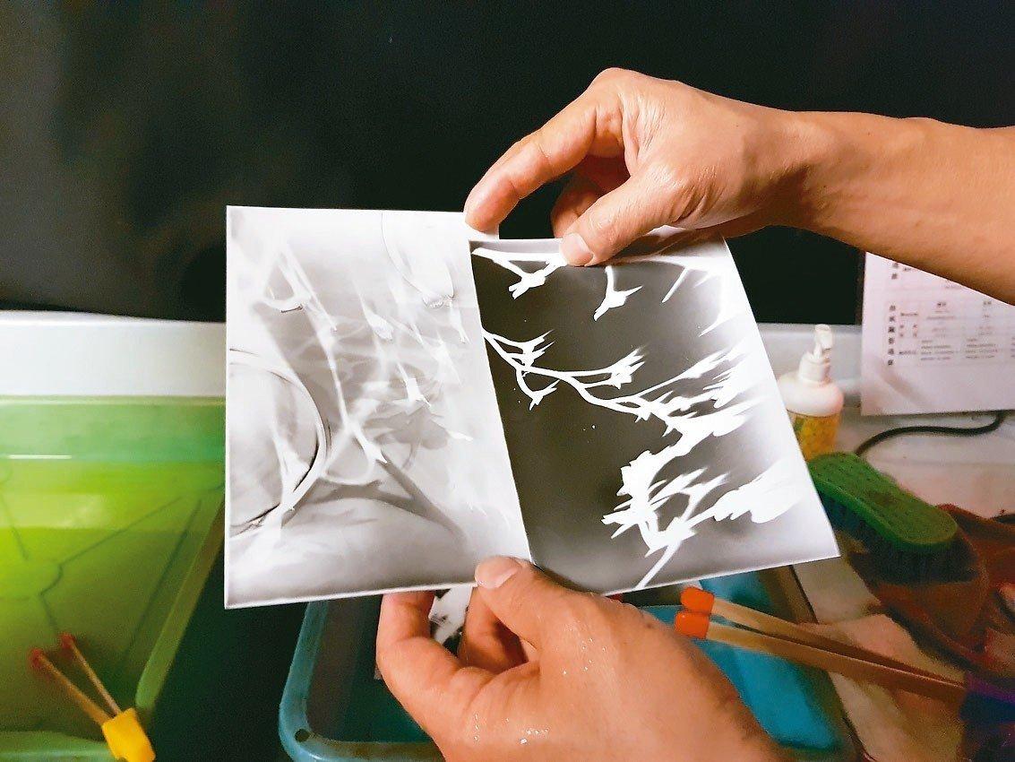北市湖山國小有間22年歷史的「暗房」,多年來持續培養學童光與影的概念,並透過相紙...