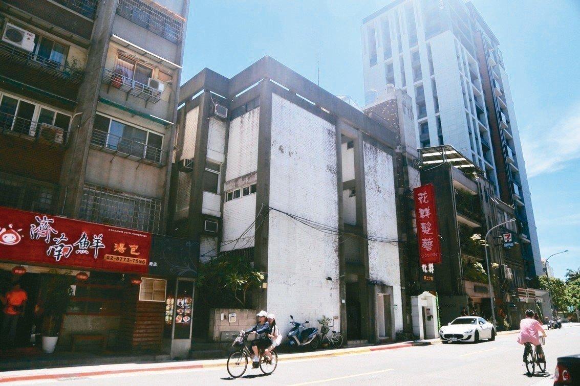 位在北市濟南路的「虹廬」,昨經文資會通過登錄為歷史建築。 圖/聯合報系資料照片