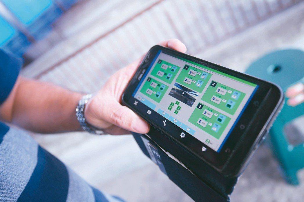 為了節省人力,李榮春將養豬機械設備改造為「物聯網」,再開發出專用手機應用程序遠端...