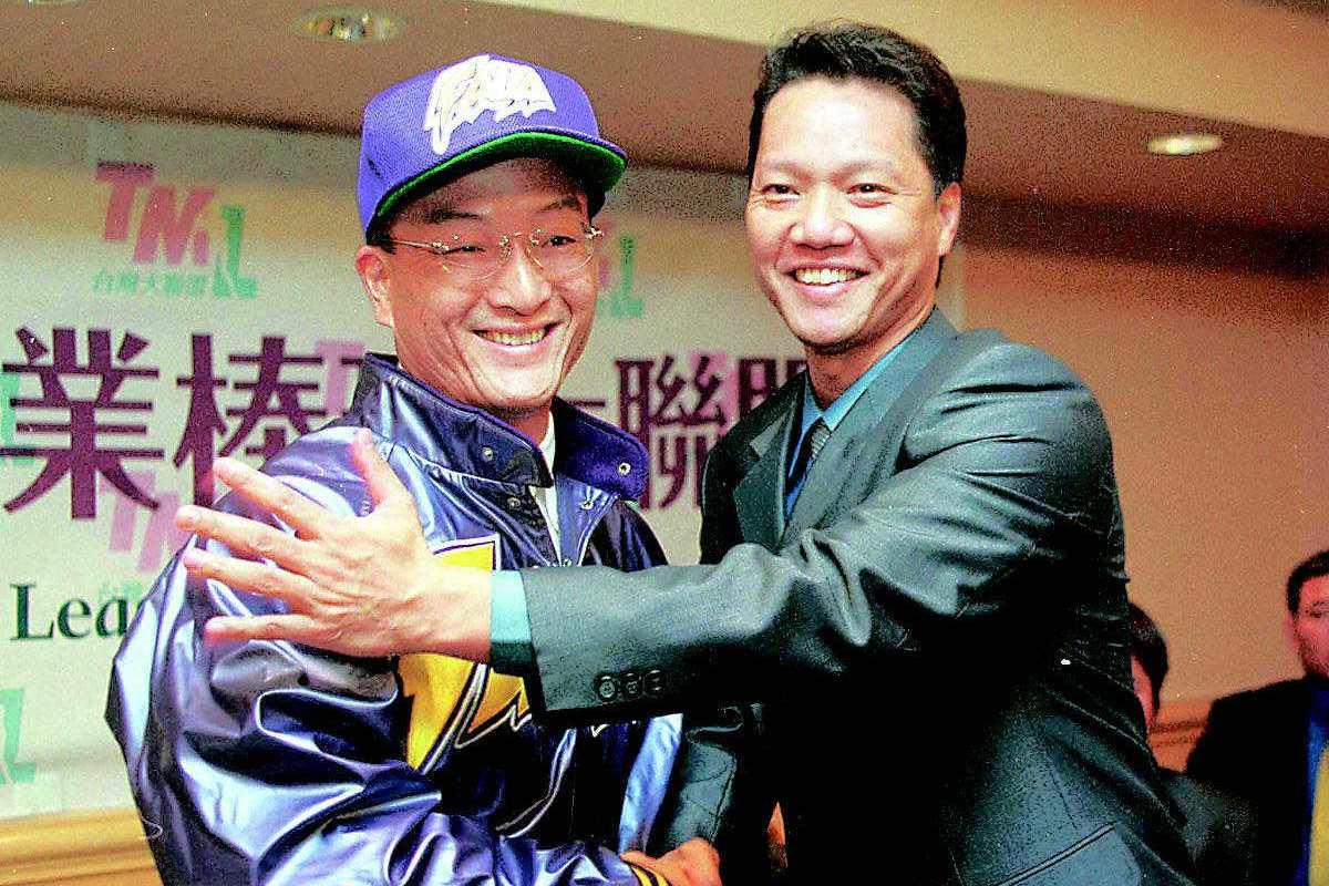 黃煚隆當年以36歲高齡成為台灣大聯盟(TML)選秀狀元,寫下罕見紀錄。 聯合報系...
