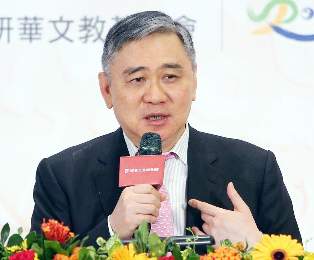 宏仁集團總裁王文洋2007年曾傳出有意選總統。 圖/聯合報系資料照片
