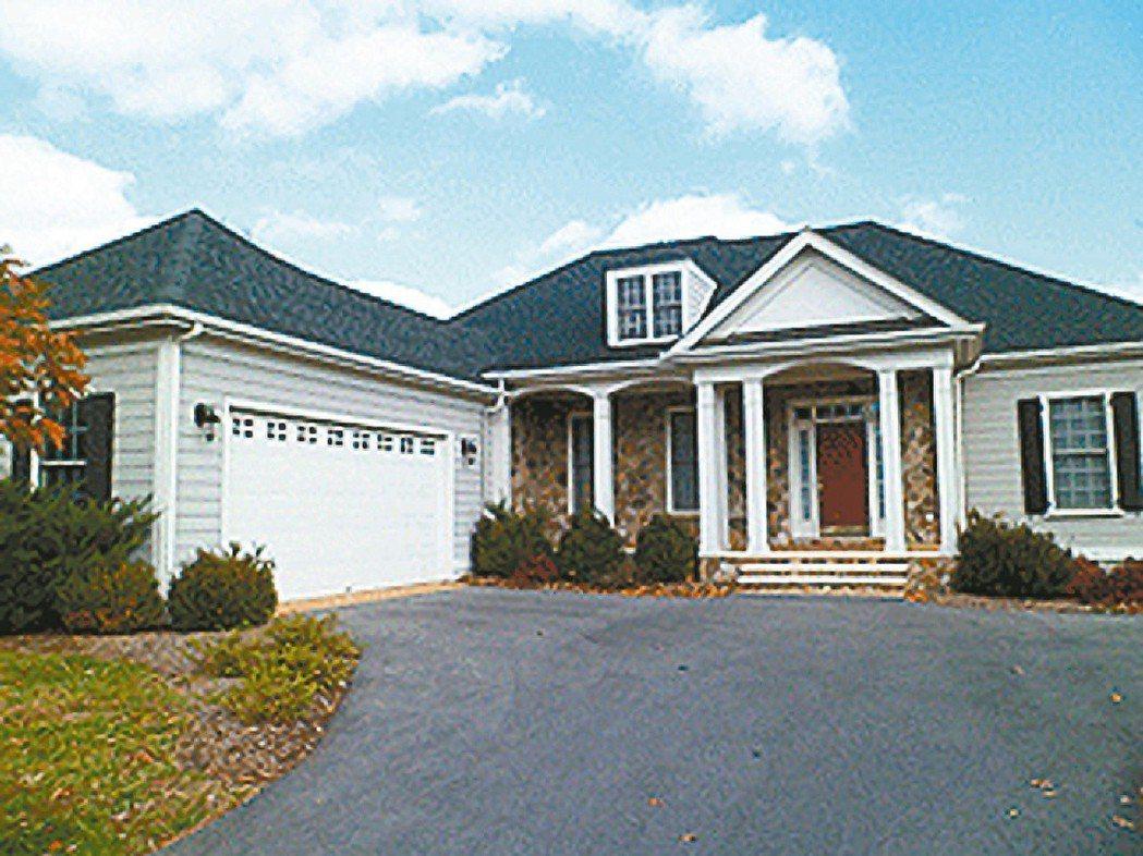 前總統陳水扁之子陳致中位於美國維吉尼亞的房子已拍賣。 圖/摘自美國財政部網站