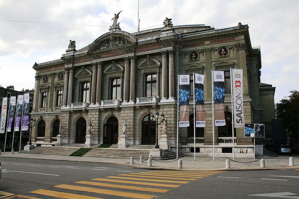日內瓦大劇院外觀。圖/取自維基百科