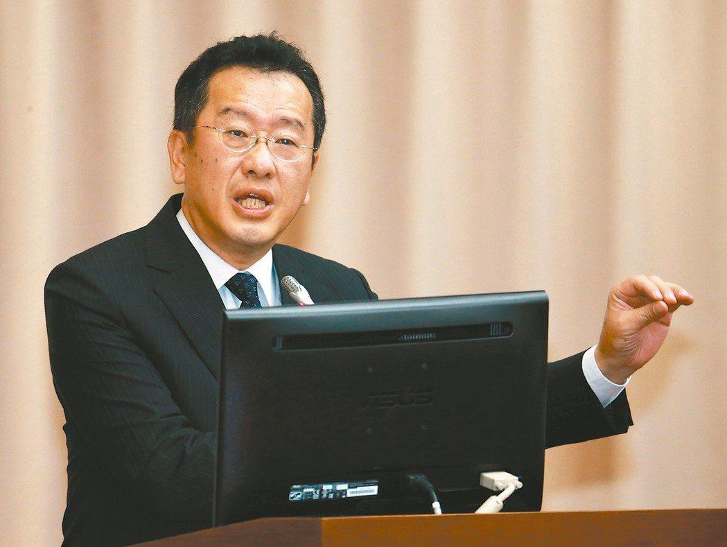 金管會主委顧立雄 記者黃義書/攝影