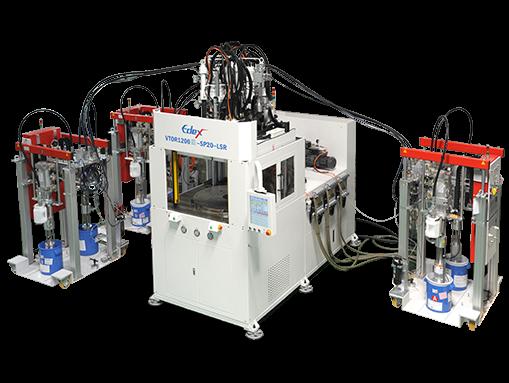 LSR矽膠射出機。 宜得世/提供