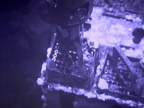 福島核災8年燃料棒移除工作啟動,比預定晚4年。 歐新社