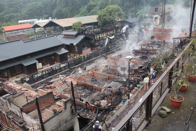 木造古蹟失火怎麼辦?千萬不能噴水柱